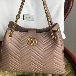 Gucci GG matelasse marmont shoulder bag